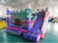 Customized Inflatable Purple Mini Bouncer Combo