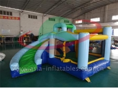 Customized Home Use Inflatable Mini Bouncer With Slide