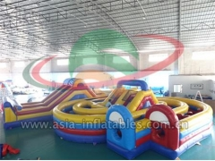 Promotional Inflatable Children Park Amusement Obstacle Course in Factory Wholesale Price