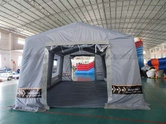 Hot Selling Event Inflatables Airtight Inflatable Military Tent in Factory Price