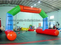 Customized Durable PVC Tarpaulin water floating Inflatable airtight arch for advertising