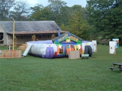 Custom Inflatables The Haunted House Inflatable​ Maze