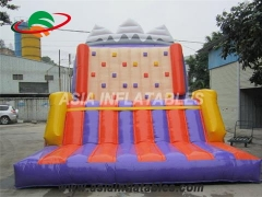 Tarpaulin PVC Resistance Inflatable Climbing Wall For Sale for Party Rentals & Corporate Events